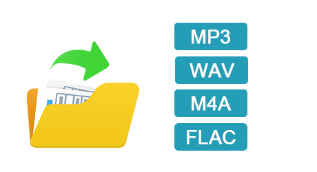 Convert Audio Files to MP3, WAV, M4A & M4B