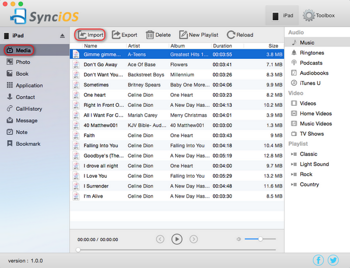 transfer iTunes music to iPhone